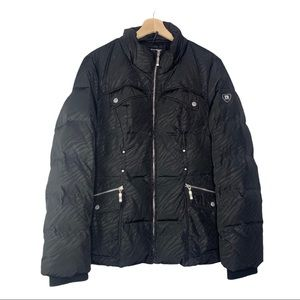 Blanc Noir SAMPLE Puffer Down Coat ONE OF a kind